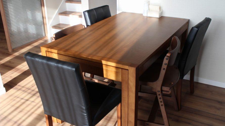 設計前から決めていたダイニングテーブル